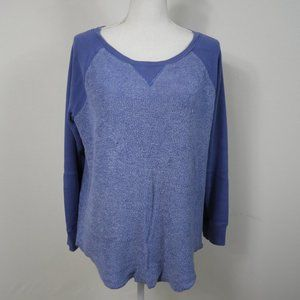 C214 AEO Jegging Sweatshirt Blue